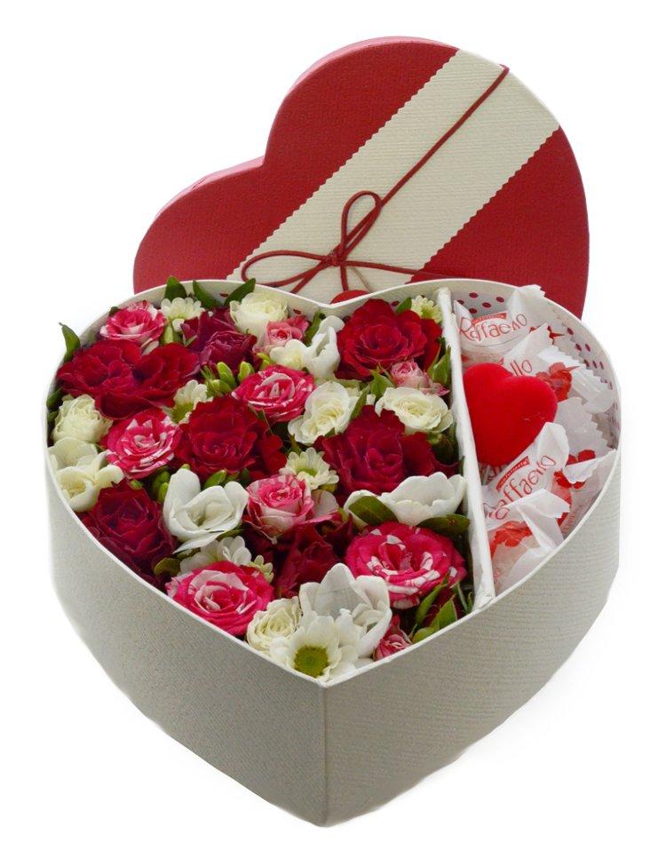 Цветы в коробке своими руками, 3 идеи
